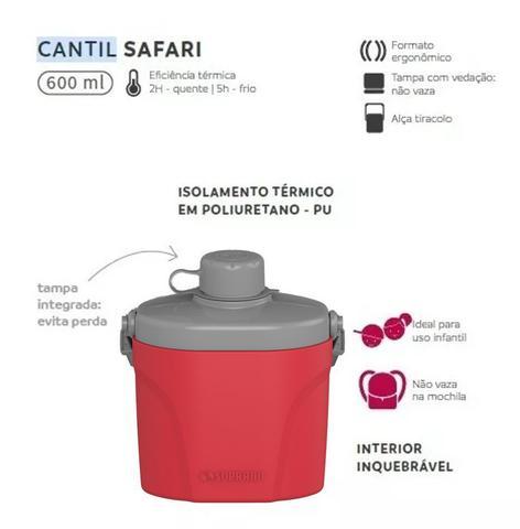 Imagem de Cantil Térmico Infantil Safari 600ml Garrafa Água - Soprano