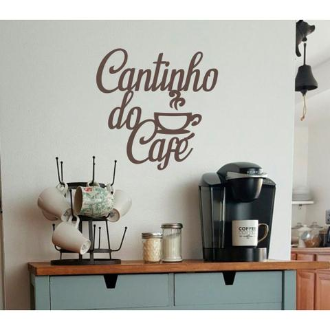 Imagem de Cantinho Do Café Em MDF  Xícara