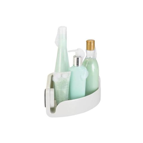 Imagem de Cantoneira para Banheiro Fixa sem Furar Off White