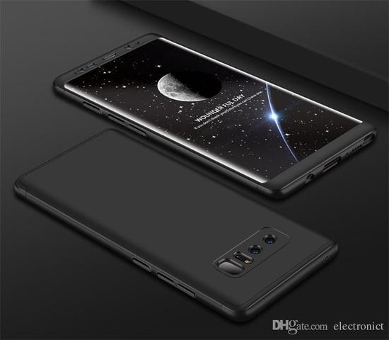Imagem de Capa 360 para Galaxy Note 8 Samsung Ultra Fina Original GKK Preta