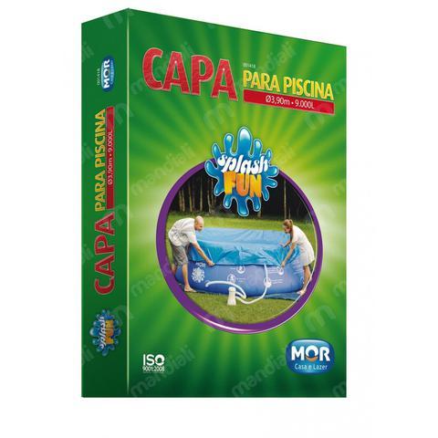 Imagem de Capa 3,90 Mts para Piscina Inflavel Redonda 9000 Lts Mor