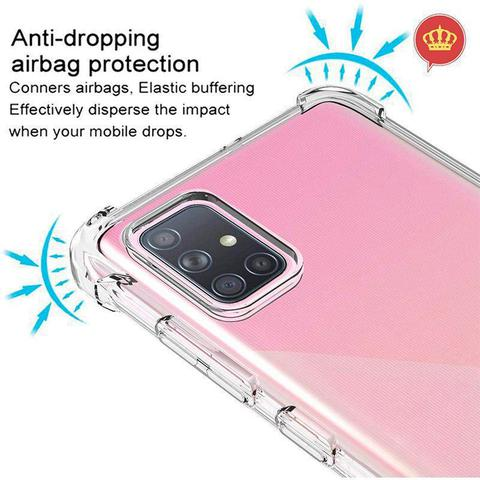 Imagem de Capa Anti Impacto Antishock Samsung Galaxy A71 Transparente