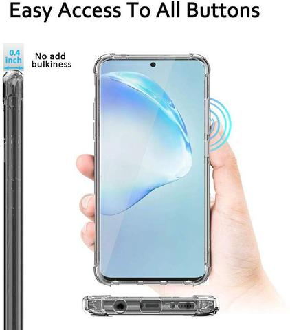 Imagem de Capa Anti Impacto Classic Clear Galaxy Note 10 Lite