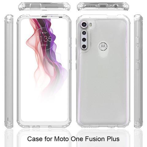 Imagem de Capa Anti Impacto Crystal Motorola Moto One Fusion PLUS