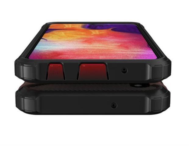Imagem de Capa anti-impacto Hybrid Rugged para Samsung Galaxy S10 Lite - Preta