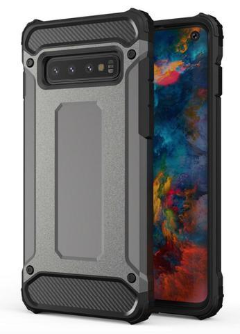 Imagem de Capa anti-impacto Hybrid Rugged para Samsung Galaxy S10E - Preta