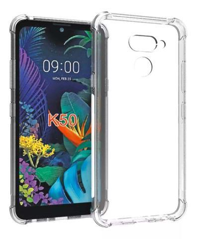 Imagem de Capa Anti Impacto LG k12 Max Prime K50 K60 + Pel Vidro 3d