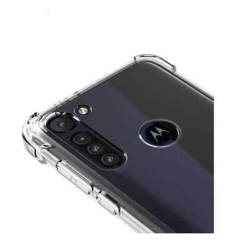 Imagem de Capa Anti Impacto Moto G8 Power Bordas Reforçadas AntiShock