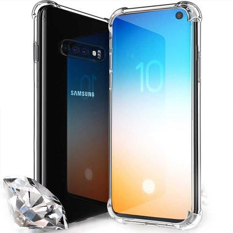 Imagem de Capa Anti Impacto Samsung Galaxy S10 - Transparente Flexível