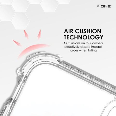 Imagem de Capa Anti Impacto X-One para Samsung Galaxy Note 10 6.3 - DropGuard Case Pro - Transparente