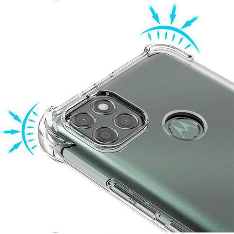 Imagem de Capa Anti Quedas Moto G9 Power + Película Vidro 3D + Kit Aplicação