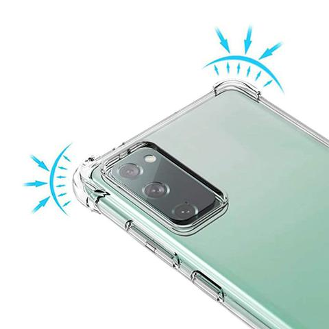 Imagem de Capa Anti Quedas Transparente Samsung Galaxy S20 Fe