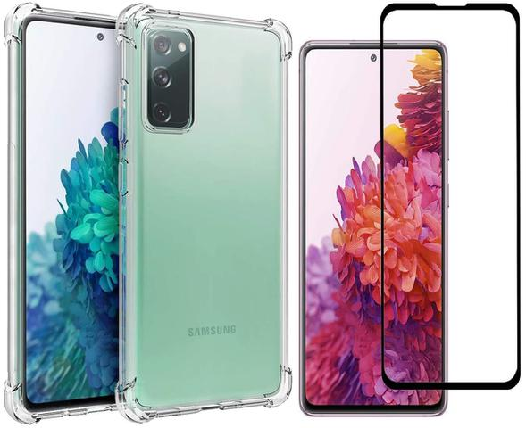 Imagem de Capa Anti Shock + Pelicula vidro 3D Samsung Galaxy S20 FE 5G