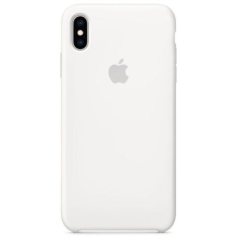 Imagem de Capa Capinha Branca Silicone Semi-rígido Forro Interno iPhone X Normal