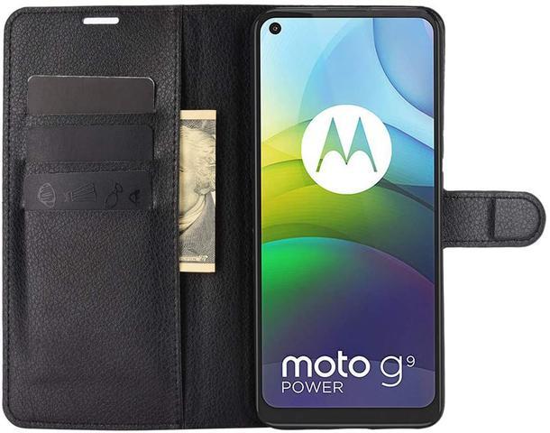 Imagem de Capa Capinha Carteira Moto G9 Power 6.78 Case Couro Flip Top