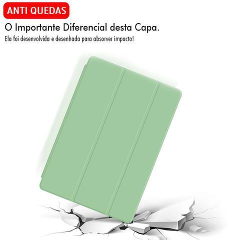 Imagem de Capa Capinha Case Ipad 5 5ª Geração Tela 9.7 Smart Couro Anti Impacto Aveludada Premium + Pelicula