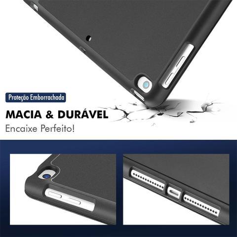 Imagem de Capa Capinha Case Ipad 8 8ª Geração 2020 Tela 10.2 Smart Anti Impacto Porta Pencil + Pelicula
