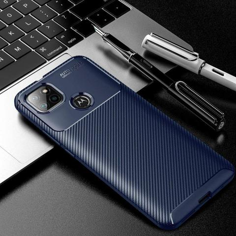 Imagem de Capa Capinha Fibra Anti Impacto Motorola Moto G9 Power 6.78