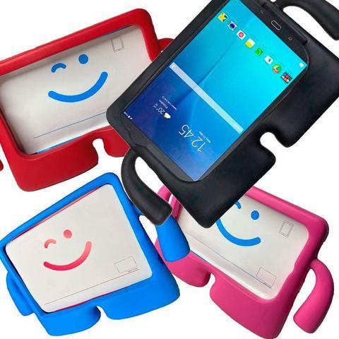 Imagem de Capa Capinha Infantil Iguy Tablet Samsung Galaxy TAB E T560 T561 Tela 9.6 Anti Impacto com Alça