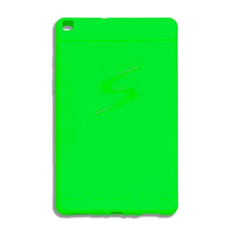 Imagem de Capa Capinha Slim Para Tablet Samsung Galaxy Tab A 8 T290 Verde Fluorescente