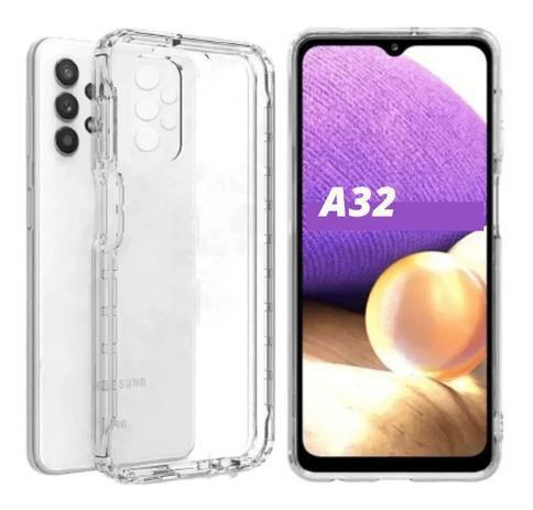 Imagem de Capa Capinha Transparente Anti Impactos Samsung Galaxy A32 4G