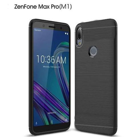 Imagem de Capa Carbon Preta Asus Zenfone Max Pro M1 Zb602kl