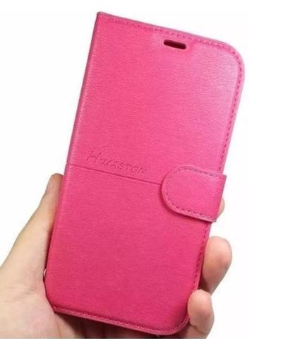 Imagem de Capa Carteira Fecho Magnético Samsung Galaxy J6 Plus  J610  (Rosa)