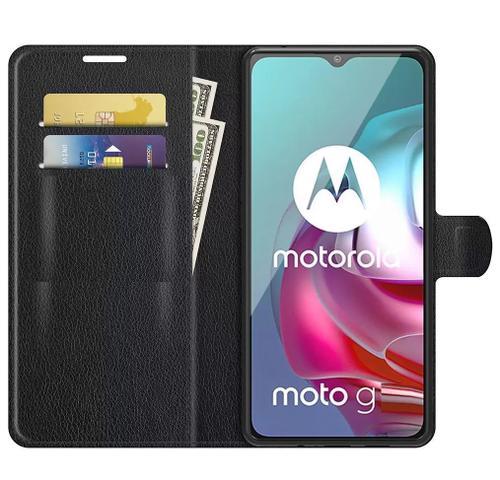 Imagem de Capa Carteira Flip Antishock (PRETA) Porta Cartão P/ Motorola Moto G10 Moto G20 Moto G30