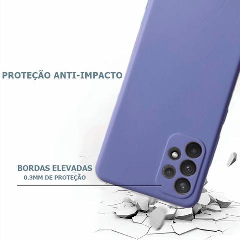 Imagem de Capa Case Anti Impacto Aveludada Samsung Galaxy A32 4G 6.4