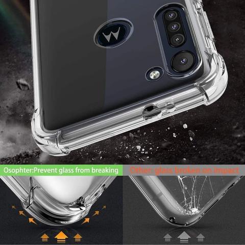 Imagem de Capa Case Anti Impacto Moto G8 Power Bordas Reforçadas AntiShock