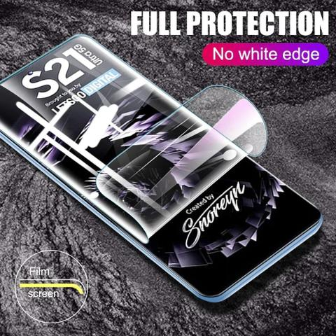Imagem de Capa Case Aveludada Galaxy S21 Ultra + Pel Hydrogel Hd