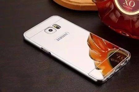 7146b5730 Imagem de Capa Case Bumper Alumínio Metal Espelhada Galaxy S6 G920 Top