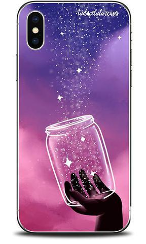 Imagem de Capa Case Capinha Personalizada Samsung XCover Pro Poeira Estrelar- Cód. 1153