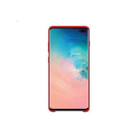 Imagem de Capa case capinha silicone samsung s10+ s10 plus vermelha