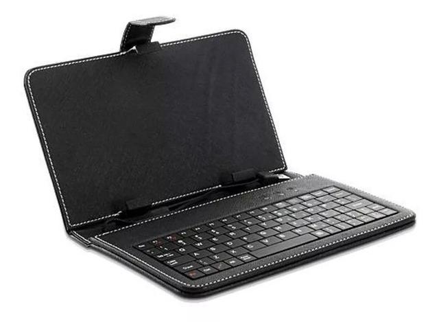 Imagem de Capa Case Com Teclado Preto Usb para Tablet 7 Polegadas