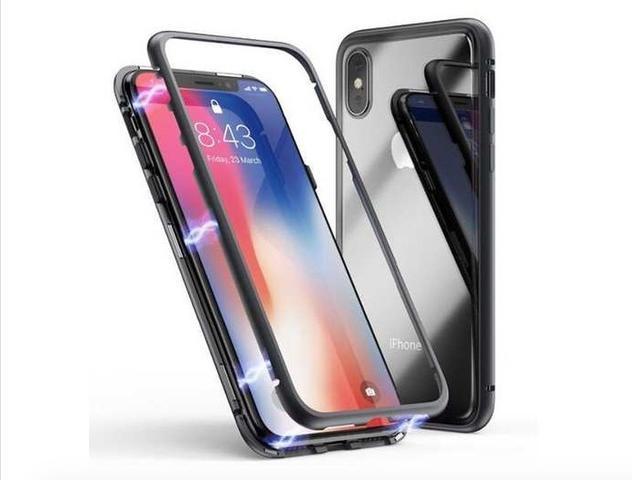 Imagem de Capa Case Magnético para iPhone 8 Plus + Película Protetora de Vidro
