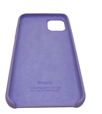 Imagem de Capa Case para Iphone 11 em Silicone - Lilás