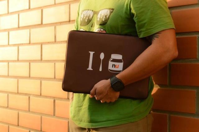 Imagem de Capa Case para Notebook 15.6 pol. em Neoprene - I Love Nu
