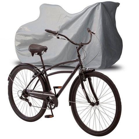 Imagem de Capa Cobrir Bicicleta Bike Protetora Forrada Elástico nas Bordas Impermeável até Aro 29