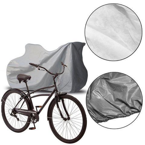 Imagem de Capa Cobrir Bicicleta Bike Protetora Forrada Impermeável Elástico nas Bordas até Aro 29 Carrhel