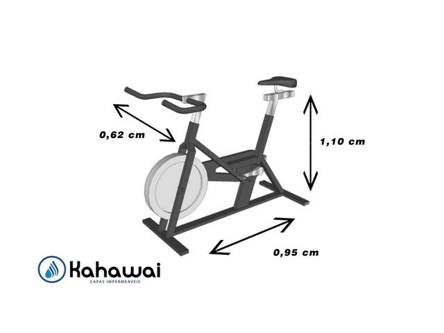 Imagem de Capa cobrir bicicleta ergométrica para spinning forrada
