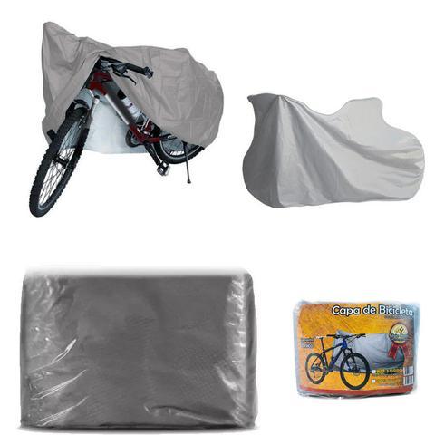 Imagem de Capa Cobrir Bike Bicicleta Impermeável Forro Central Elástico