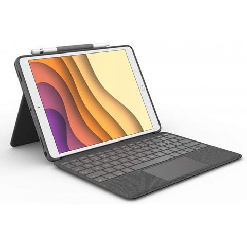 Imagem de Capa com teclado e touch pad logitech para i pad pro 10,5