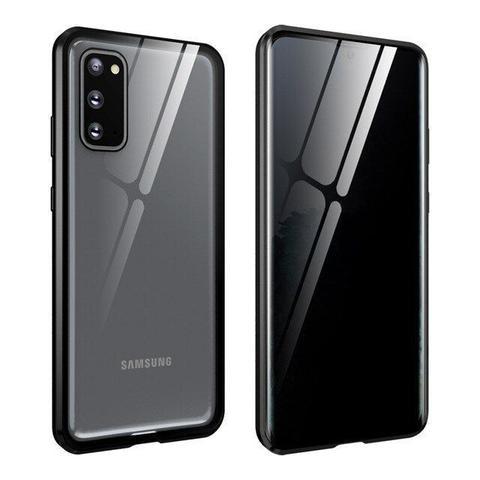 Imagem de Capa Crystal Magnética Anti Curioso Samsung Galaxy S20 Plus  Prata