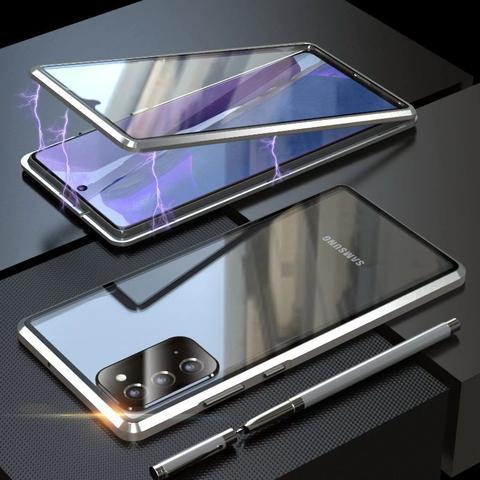 Imagem de Capa Crystal Magnética Samsung Galaxy M51  Prata