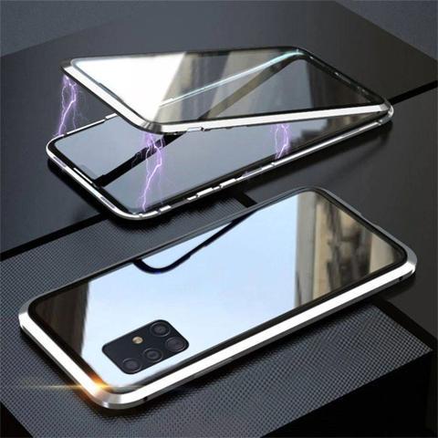 Imagem de Capa Crystal Magnética Samsung Galaxy S10 Lite  Prata