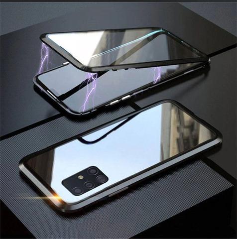 Imagem de Capa Crystal Magnética Samsung Galaxy S10 Lite  Preto