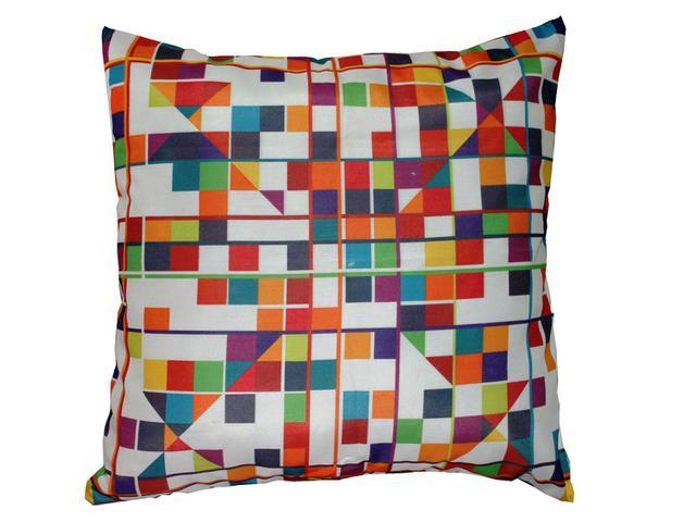 Imagem de Capa de Almofada Contemporânea Eco Color
