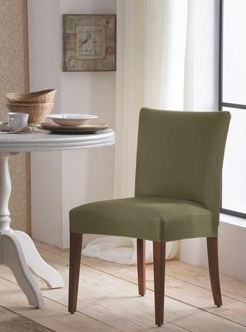 Imagem de Capa de Cadeira Malha Suplex - Composê Fendi e Dália - Kit 8 Capas
