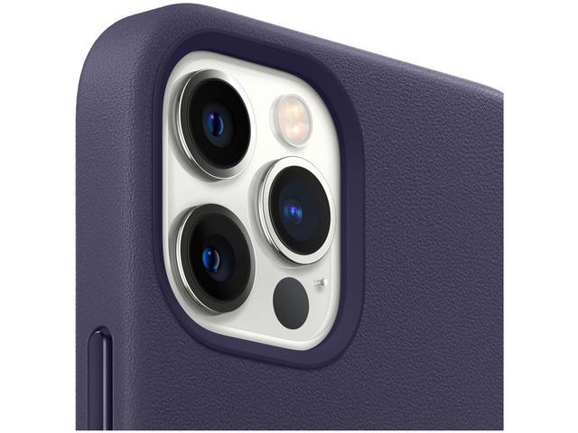 Imagem de Capa de Celular para iPhone 12 Pro Max Couro